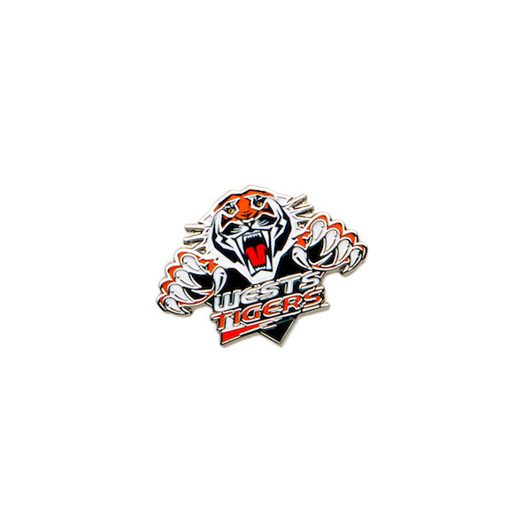 West Tigers Pin - Metal Logo