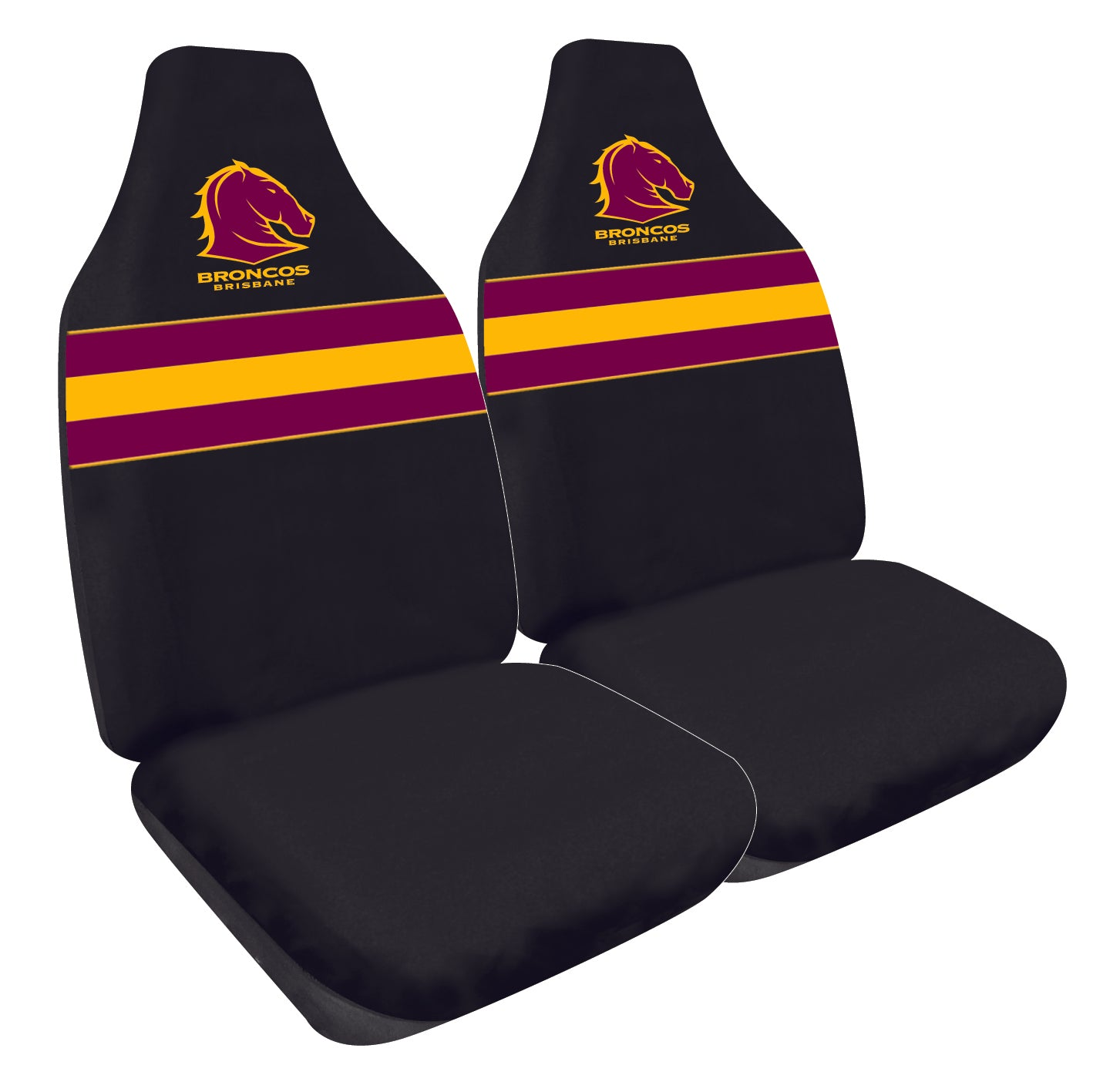 Brisbane Broncos Car Seat Covers