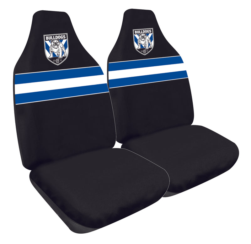 Canterbury Bulldogs Car Seat Covers