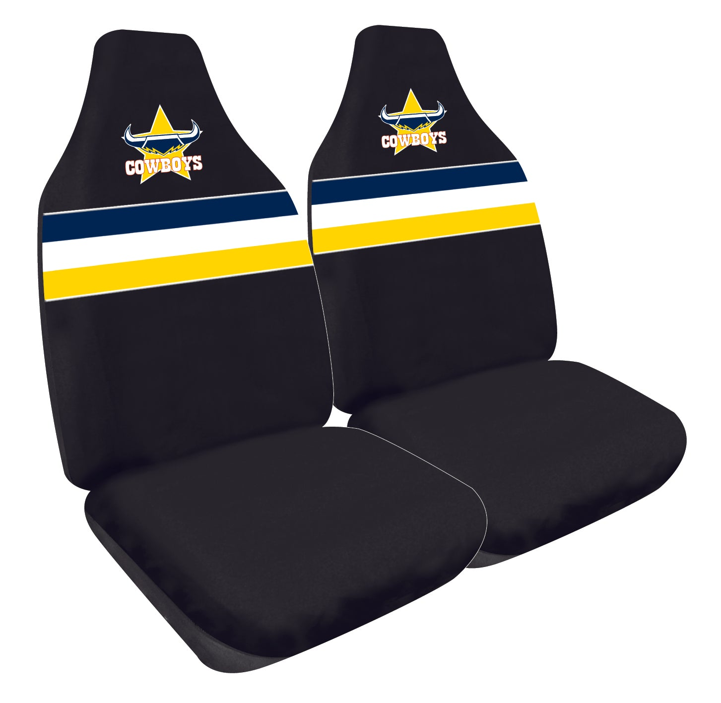 North Queensland Cowboys Car Seat Covers
