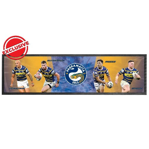 Parramatta Eels Bar Runner - Players
