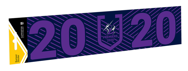 Melbourne Storm 2020 Premiers Car Bumper Sticker