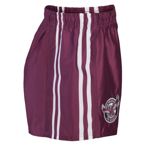 Manly Sea Eagles Mens Away Replica Player Shorts