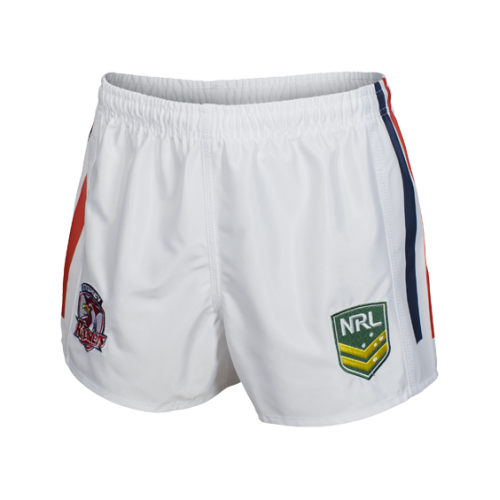 Sydney Roosters Mens Replica Player Shorts