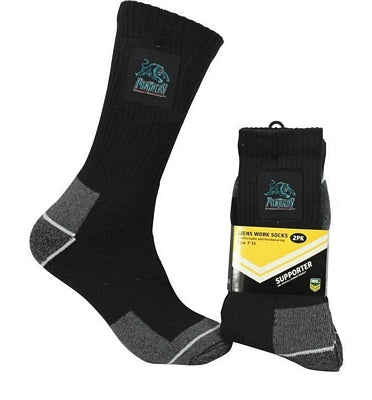 Penrith Panthers Work Socks (2pk)