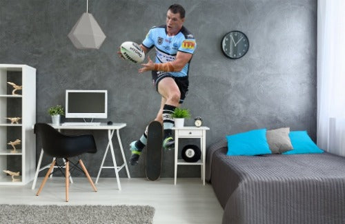 Paul Gallen Cronulla Sharks Wall Sticker