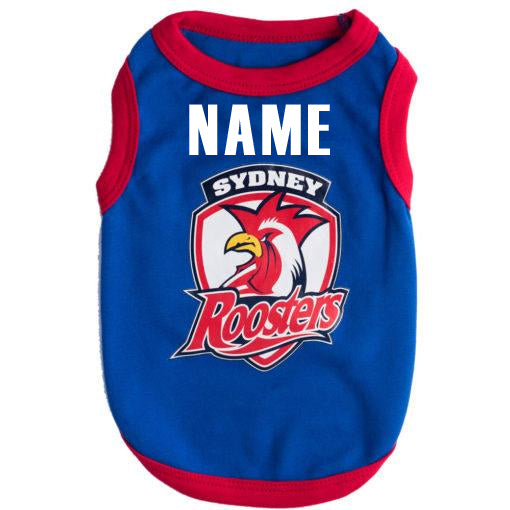 Sydney Roosters Dog Shirt