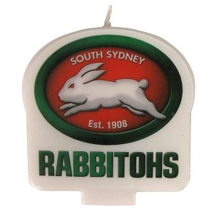 South Sydney Rabbitohs Logo Candle