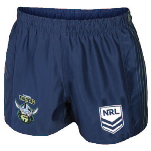 Canberra Raiders Mens Away Replica Player Shorts