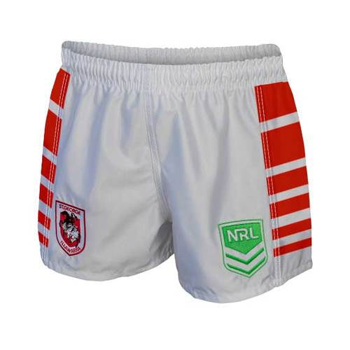 St George Illawarra Dragons Mens Replica Player Shorts