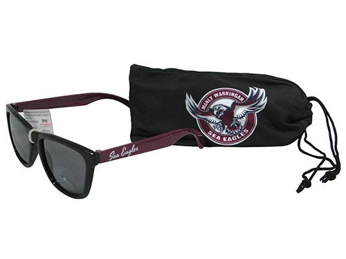 Manly Sea Eagles Sunglasses with Case