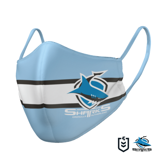 Cronulla Sharks Face Mask