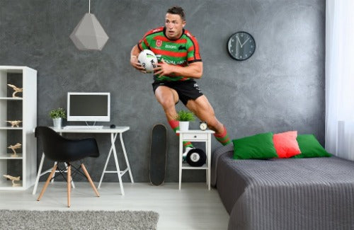 Sam Burgess South Sydney Rabbitohs Wall Sticker