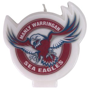Manly Sea Eagles Logo Candle