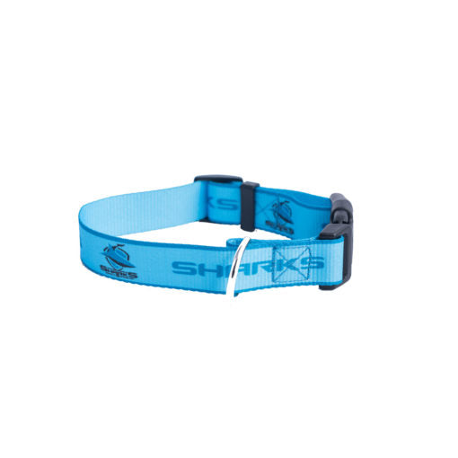 Cronulla Sharks Dog Collar