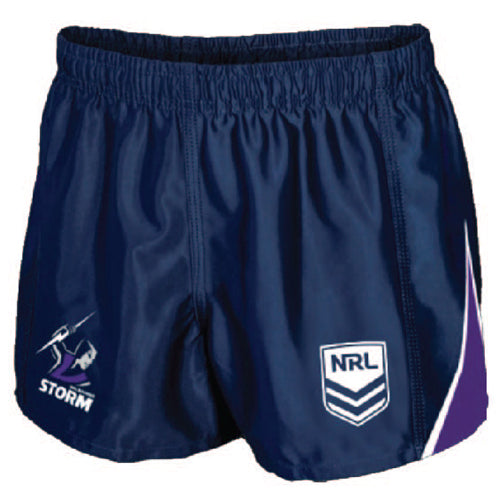 Melbourne Storm Mens Replica Player Shorts