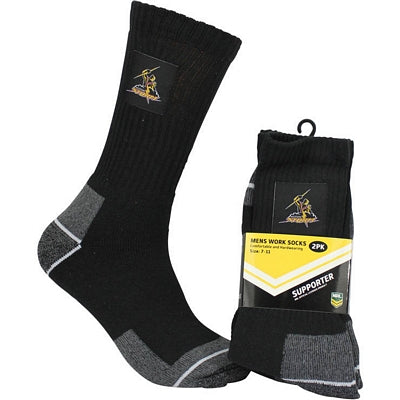 Melbourne Storm Work Socks (2pk)