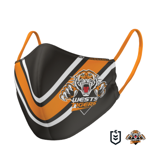 Wests Tigers Face Mask