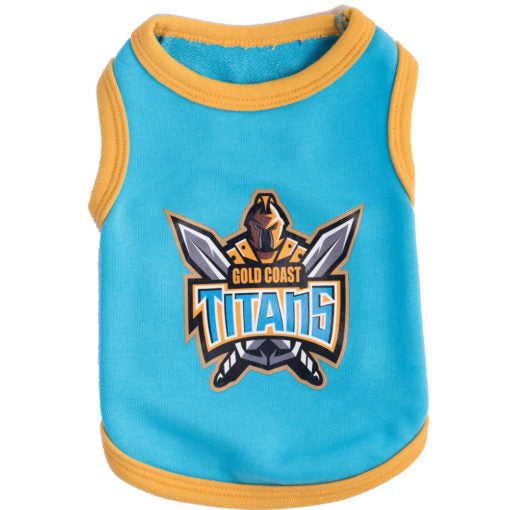 Gold Coast Titans Dog Shirt