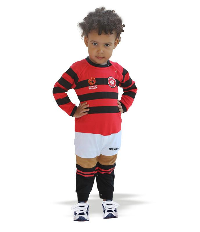Western Sydney Wanderers Footy Jumpsuit - Long (White)