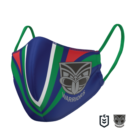 NZ Warriors Face Mask