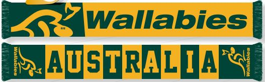 Wallabies Scarf - Banner