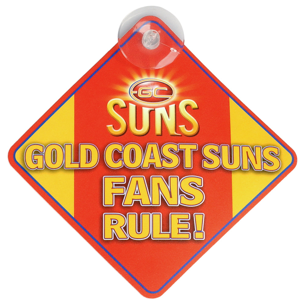 Gold Coast Suns Sign