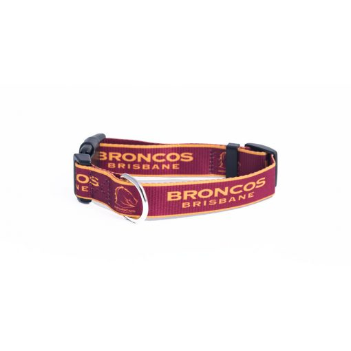 Brisbane Broncos Dog Collar