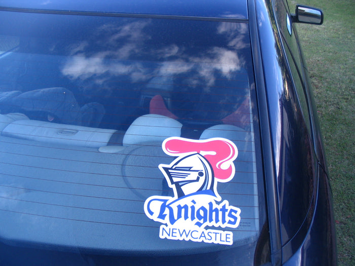 Newcastle Knights Car Logo Sticker