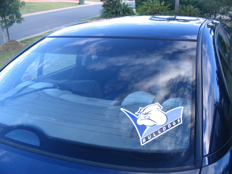 Canterbury Bulldogs Car Logo Sticker