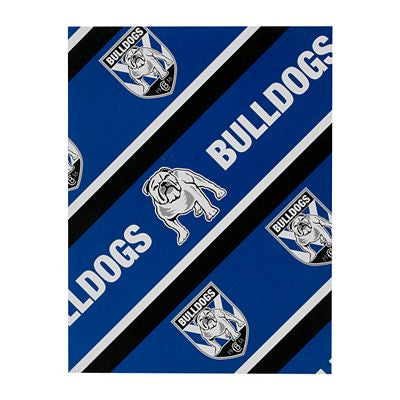 Canterbury Bulldogs Wrapping Paper