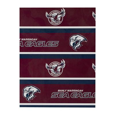 Manly Sea Eagles Wrapping Paper