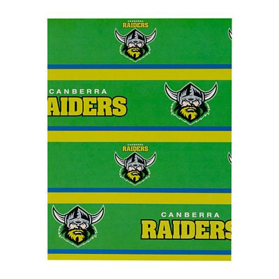 Caberra Raiders Wrapping Paper