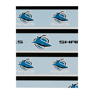 Cronulla Sharks Wrapping Paper