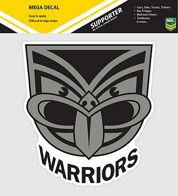 NZ Warriors Car Logo Sticker