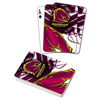 Broncos Playing Cards