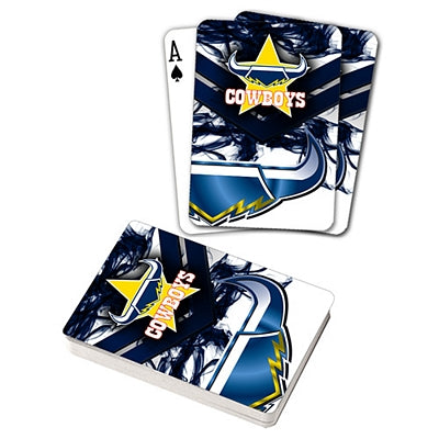 North Queensland Cowboys Playing Cards