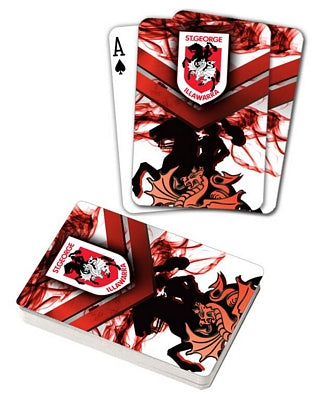 St George Illawarra Dragons Playing Cards
