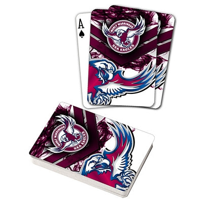 Manly Sea Eagles Playing Cards