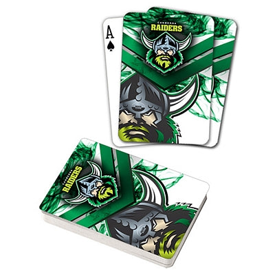 Canberra Raiders Playing Cards