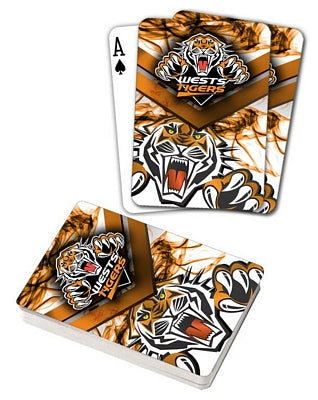Wests Tigers Playing Cards