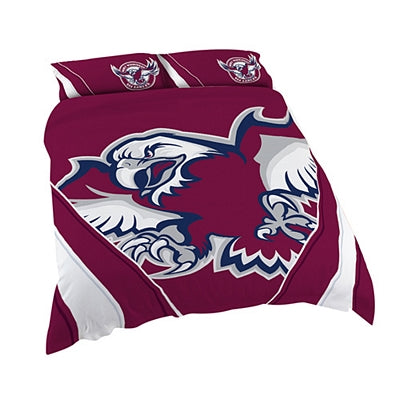 Manly Sea Eagles Quilt Cover