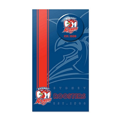 Sydney Roosters Birthday Card + Badge