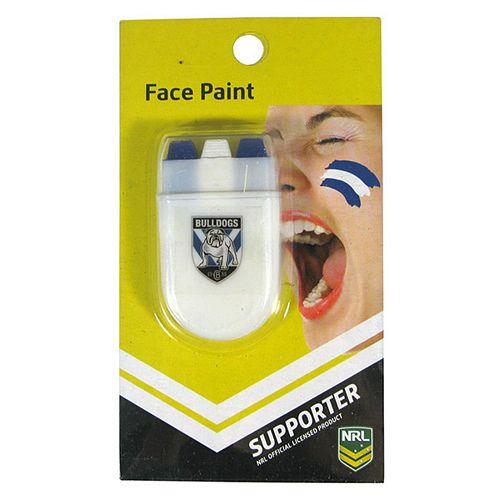Canterbury Bulldogs Face Paint Stick