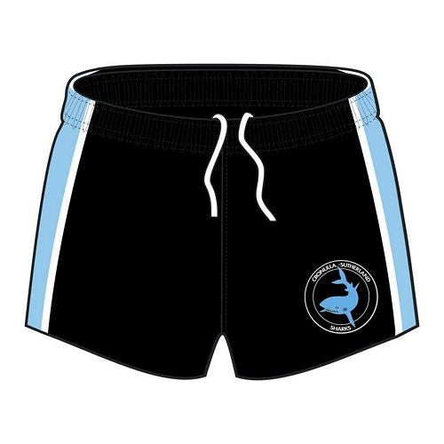 Cronulla Sharks Heritage Supporter Player Shorts