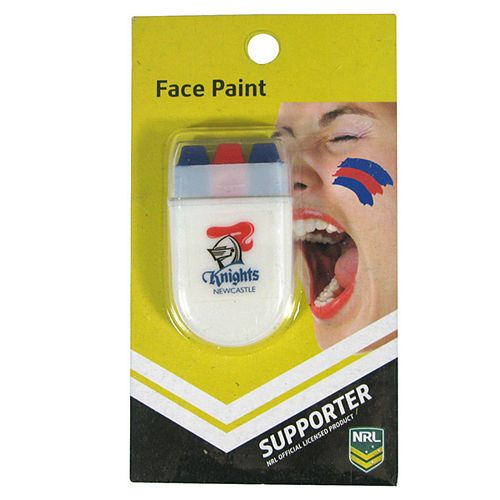 Newcastle Knights Face Paint Stick