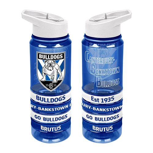 Canterbury Bulldogs Drink Bottle - Wristbands