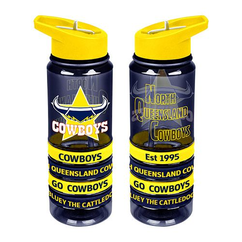 North Queensland Cowboys Drink Bottle - Wristbands