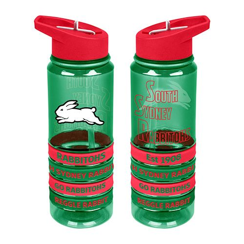 South Sydney Rabbitohs Drink Bottle - Wristbands