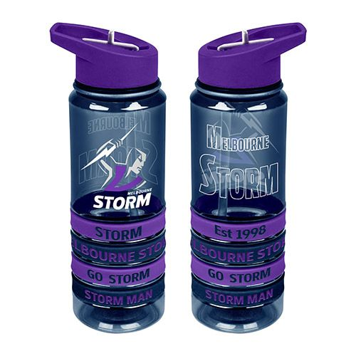 Melbourne Storm Drink Bottle - Wristbands
